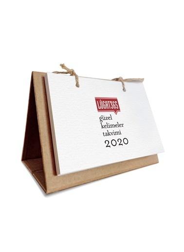Lûgat365 Lûgat365 Güzel Kelimeler Takvimi 2020 Beyaz